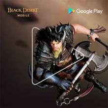 Black Desert Mobile powered by Google Play