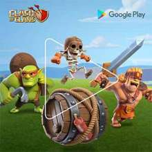 Clash of Clans powered by Google Play