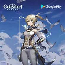 Genshin Impact powered by Google Play