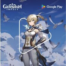 Genshin Impact powered by Google Play