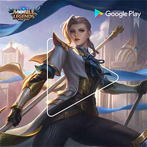 Mobile Legends powered by Google Play