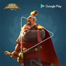 Rise of Kingdom powered by Google Play