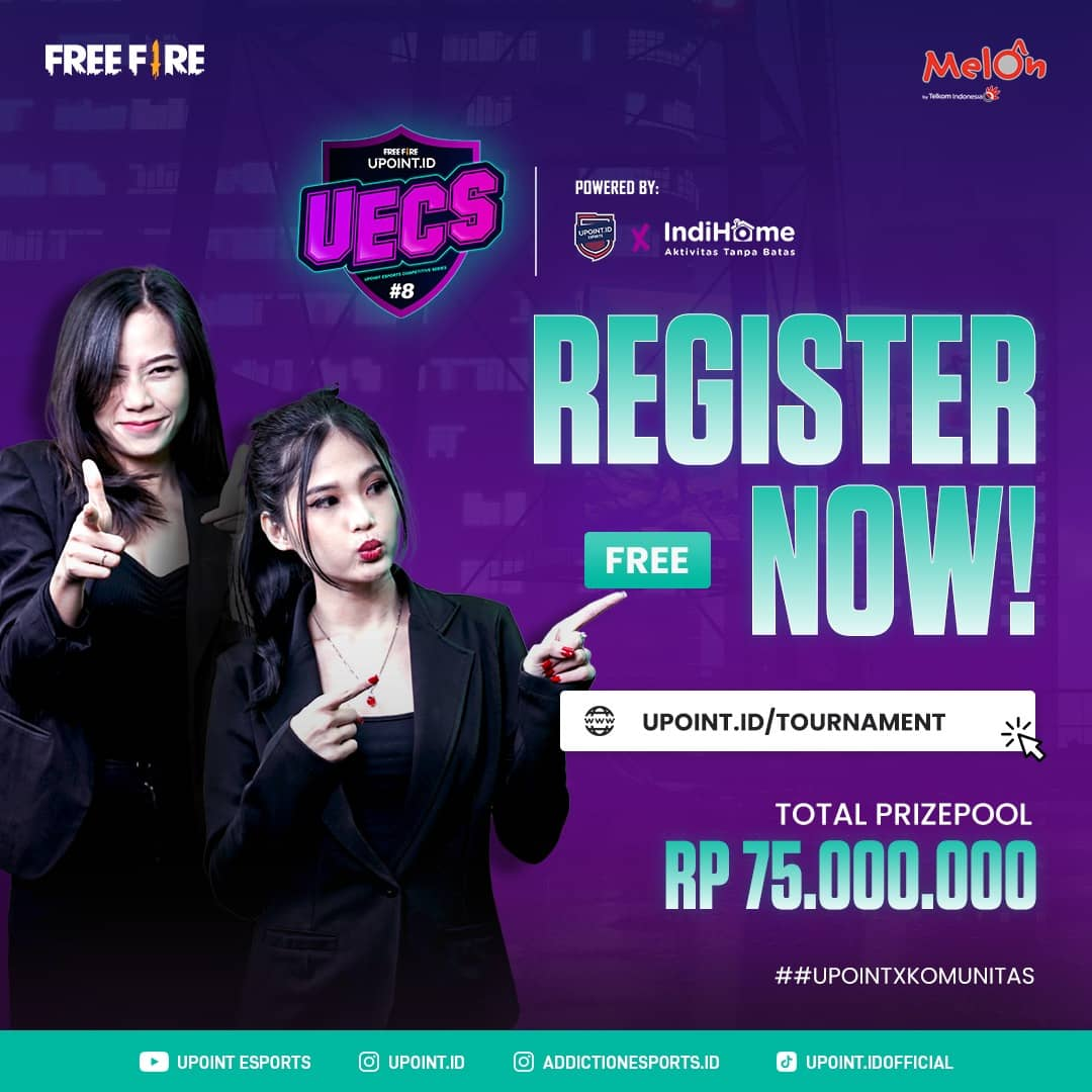 Free Fire Tournament UECS Season 4