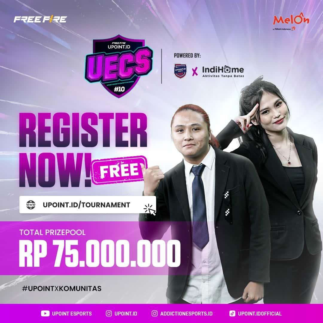 Free Fire Tournament UECS Season 5